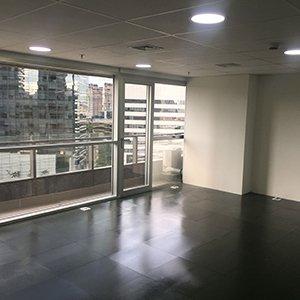 Infraestrutura de sala comercial para Locação